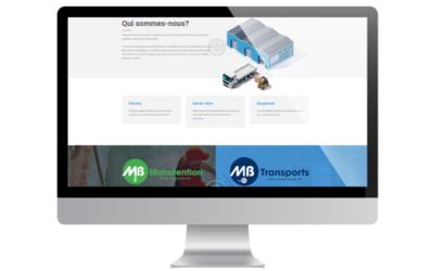 Notre nouveau site web est en ligne